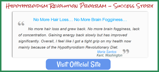 Maria's Hair Loss Hypothyroidism Revolution Success Story