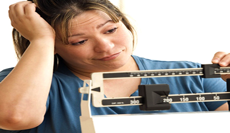 Over Weight Woman Want Losing Weight