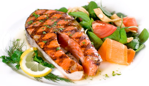 diet for hypothyrodism with fish and vegetables